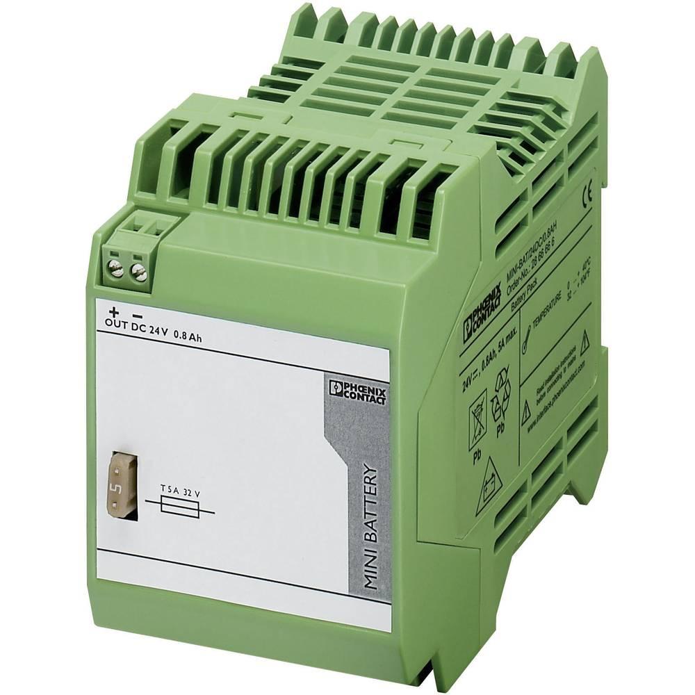 Industrijski UPS (DIN letev) Phoenix Contact MINI-BAT/24DC/0.8AH