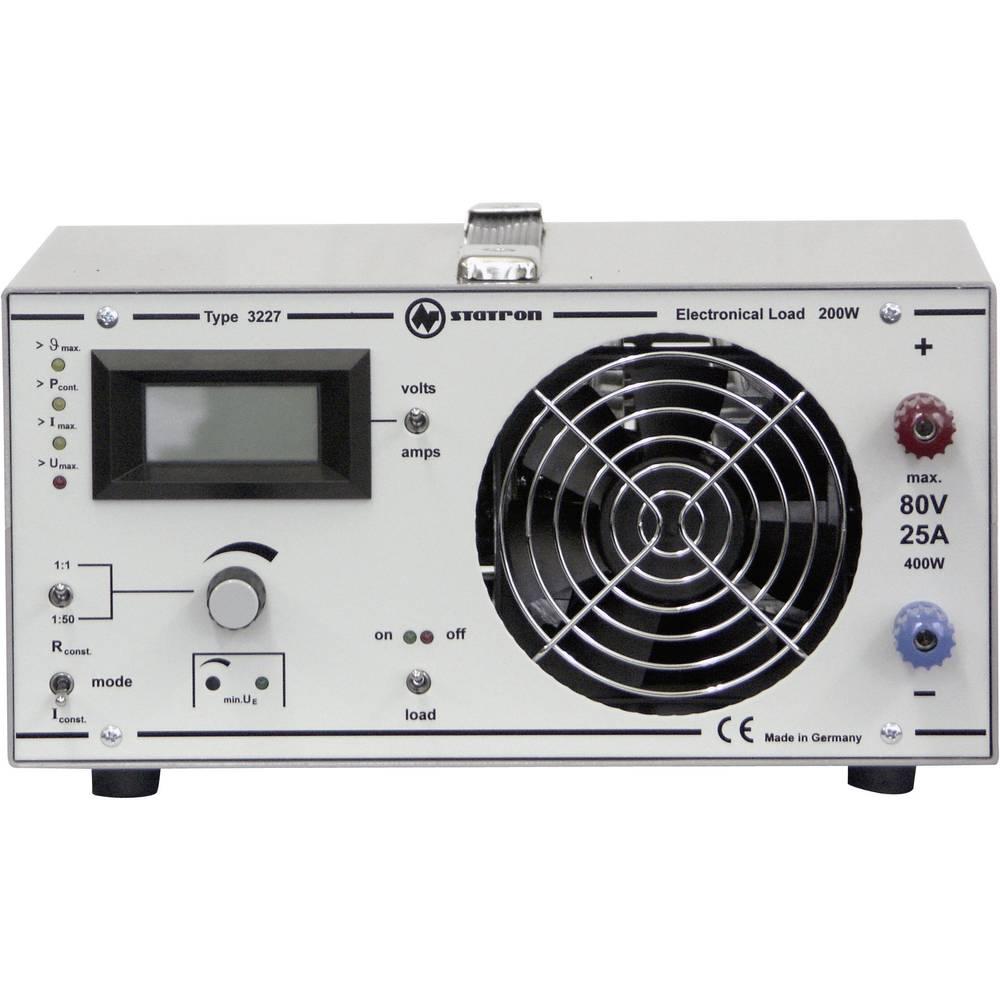 Kal.-ISO Elektronsko breme Statron 3227.1, 1-80 V/DC, 5 mA - 25 A, 0-200 W