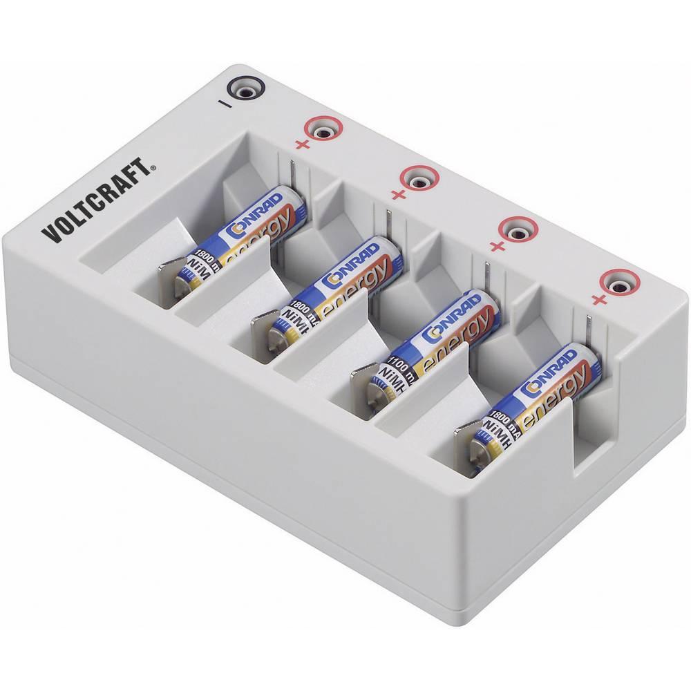 VOLTCRAFT polnilni adapter za okrogle akumulatorje 201004