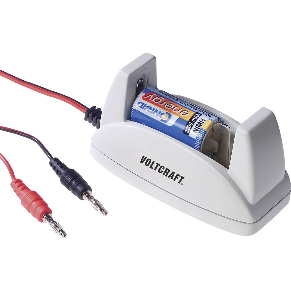 VOLTCRAFT polnilni adapter za okrogle akumulatorje 512038