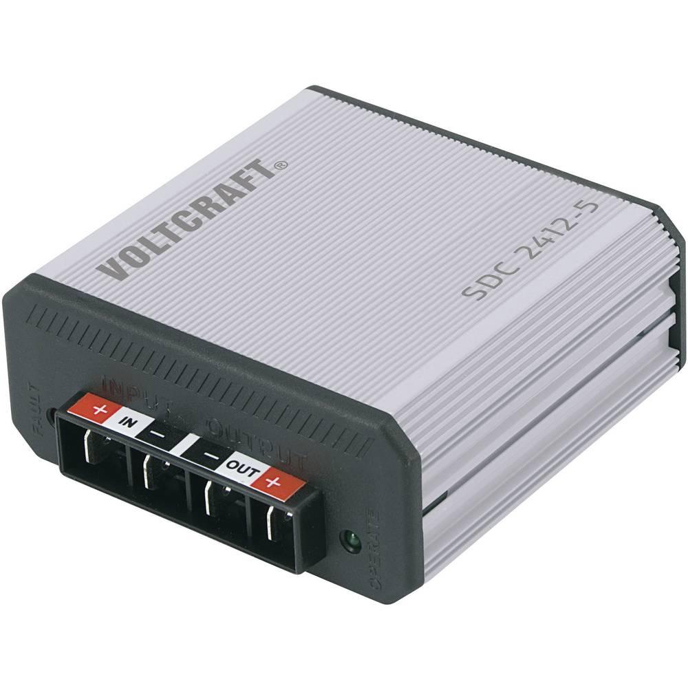 DC/DC-pretvornik za vozila VOLTCRAFT SDC 2412-5 13.8 V/DC/7 A