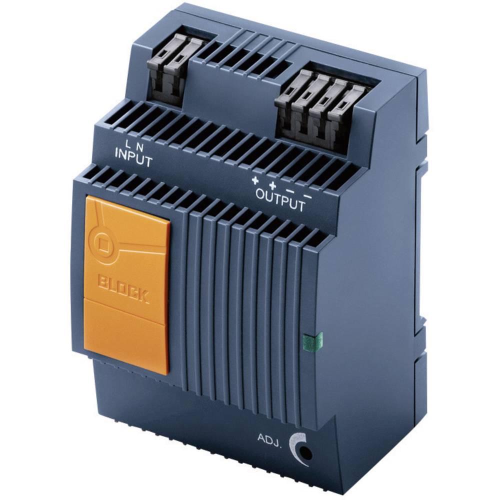 Adapter napajanja za profilne šine (DIN-letva) Block PEL 230/18-1,1 18 V/DC 1.1 A 2 x