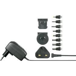 Strujni mrežni adapter, podesiv VOLTCRAFT SPS12-7W 3 V/DC, 4.5 V/DC, 5 V/DC, 6 V/DC, 7.5 V/DC, 9 V/DC, 12 V/DC 600 mA 7.2 W