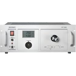 VOLTCRAFT VIT 500 ločilni trafo, rumene barve 500 VA, 230 V/AC laboratorijski ločilni transformator - ISO kalibriran