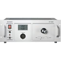 VOLTCRAFT VIT 1000 ločilni trafo, rumene barve 1000 VA, 230 V/AC laboratorijski ločilni transformator - ISO kalibriran