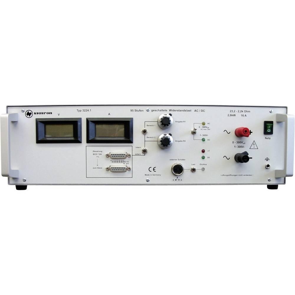 Kal. ISO-Elektronsko breme Statron 3224.1, 1-300 V/DC, 13 A, 0-2.200W