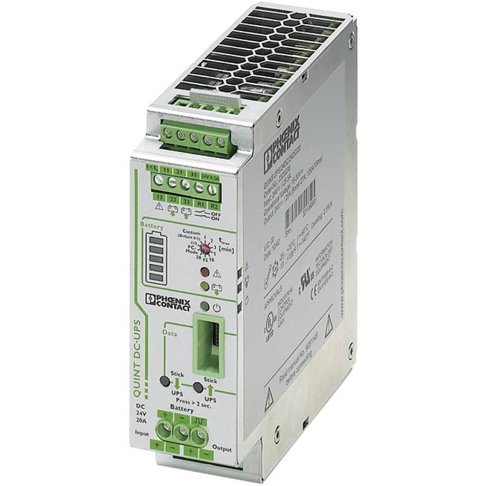 Industrijski UPS (DIN letev) Phoenix Contact QUINT-UPS/ 24DC/ 24DC/20