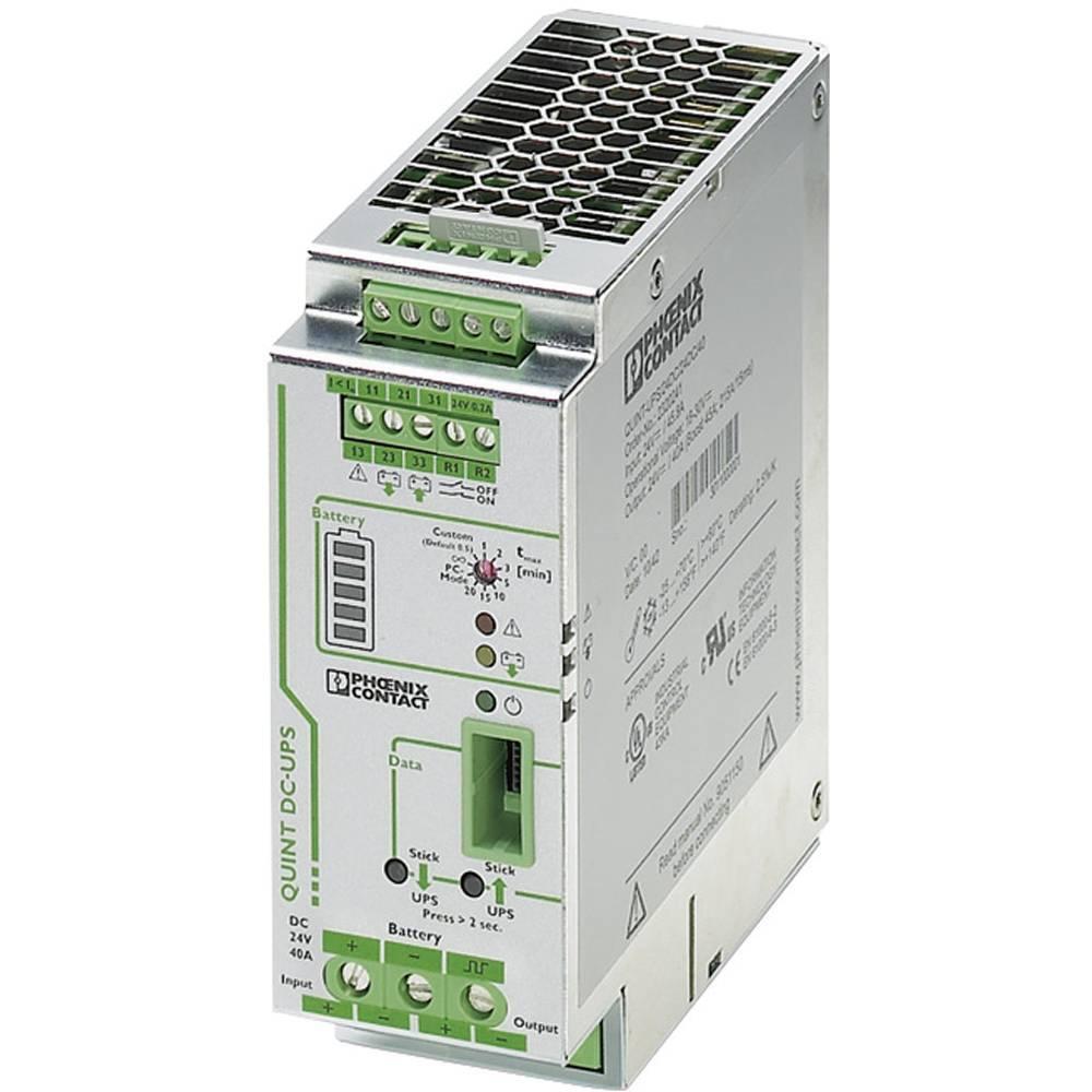 Industrijski UPS (DIN letev) Phoenix Contact QUINT-UPS/ 24DC/ 24DC/40