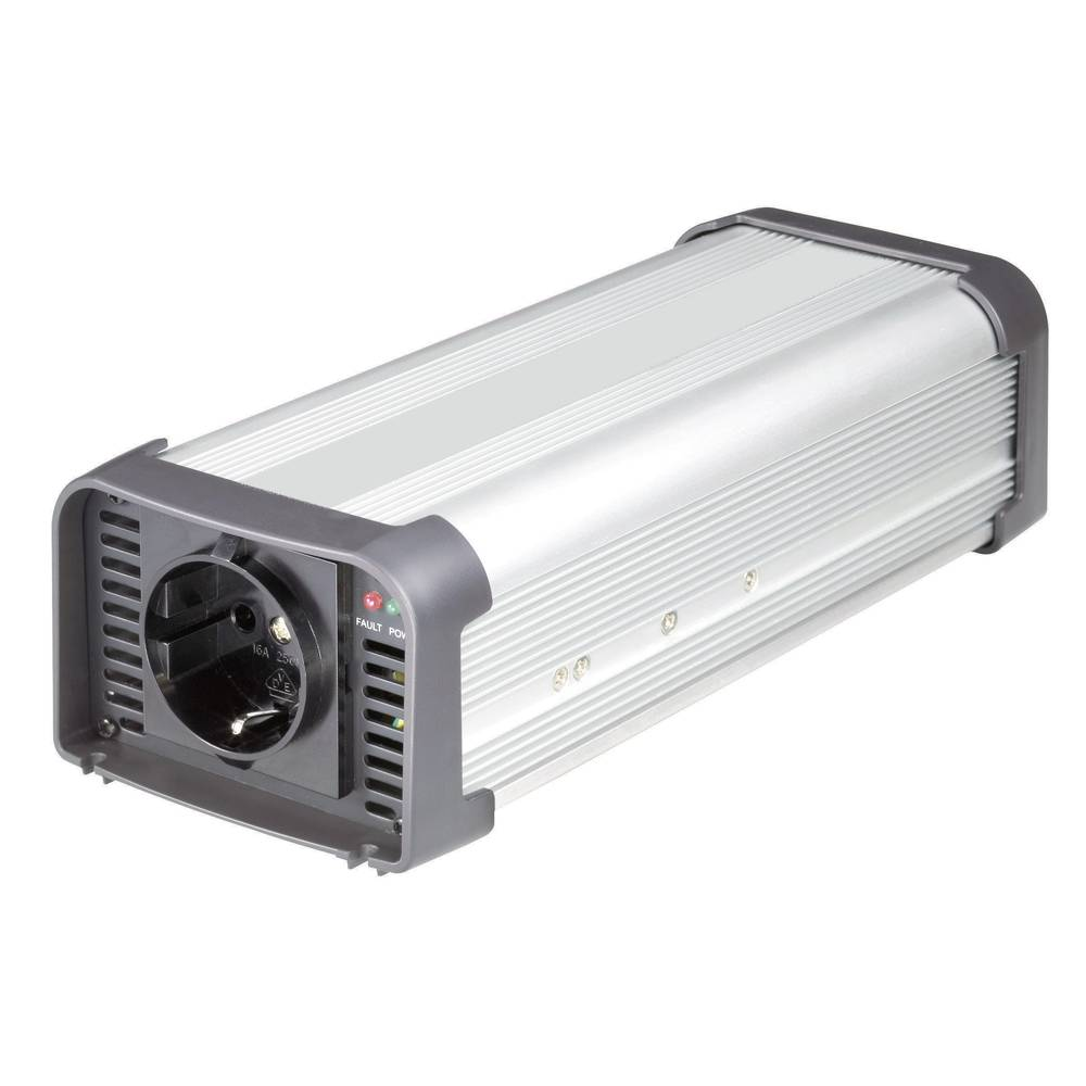 Izmjenjivač VOLTCRAFT NPI 500-24 500 W 24 V/DC 24 V/DC (22 - 30 V) daljinsko upravljanje, kabel sa otvorenim krajem, šuko utični