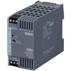 DIN-skena nätaggregat Siemens SITOP PSU100C 24 V/2,5 A 26.4 V/DC 2.5 A 60 W 1 x
