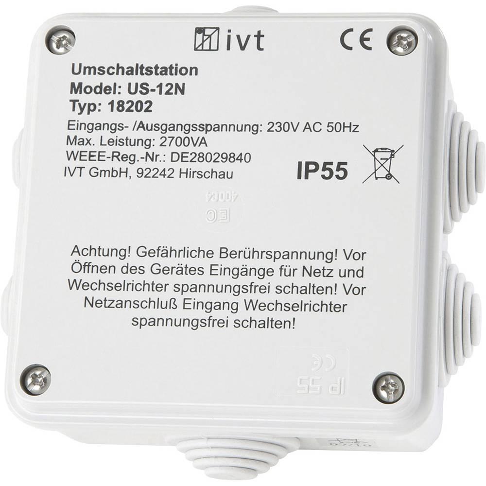Preklopna postaja IVT US-12N,2.760 VA, 230 V/AC - 230 V/AC 18202