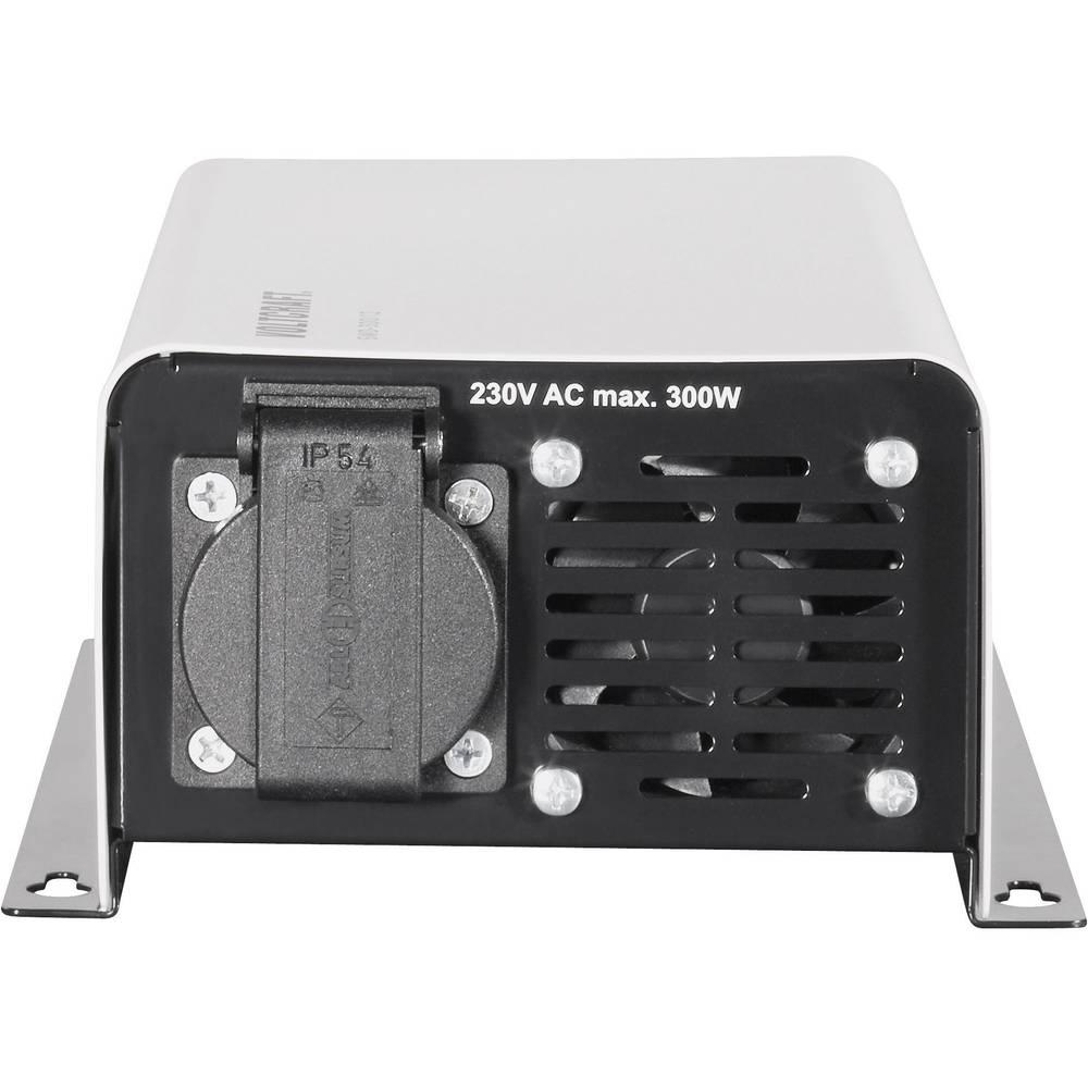 Razsmernik VOLTCRAFT SWD-300/24 300 W 24 V/DC 24 V/DC daljinski upravljalnik in vtičnica z zaščitenimi kontakti