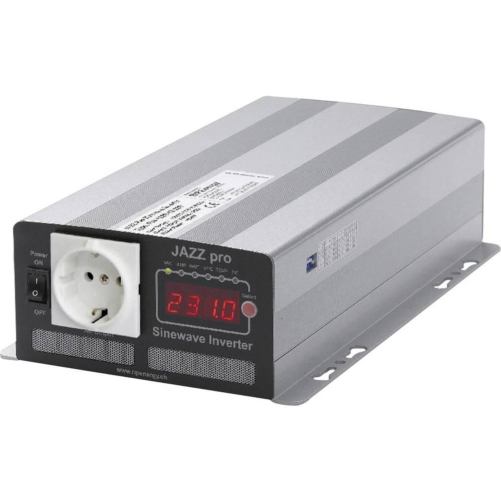 Razsmernik RIP Energy Jazz pro 700-12-230 700 W 12 V/DC 12 V/DC vijačne objemke, varnostna vtičnica
