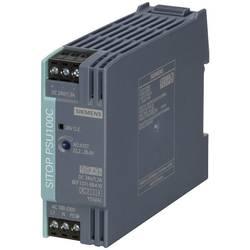 DIN-skena nätaggregat Siemens SITOP PSU100C 24 V/1,3 A 26.4 V/DC 1.3 A 30 W 1 x