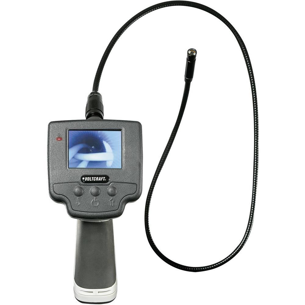 Endoskop VOLTCRAFT BS-100XIP sonde-: 9.8 mm dolžina sonde: 88 cm LED-osvetlitev, fokus, zamenjiva sonda, vodoodporen