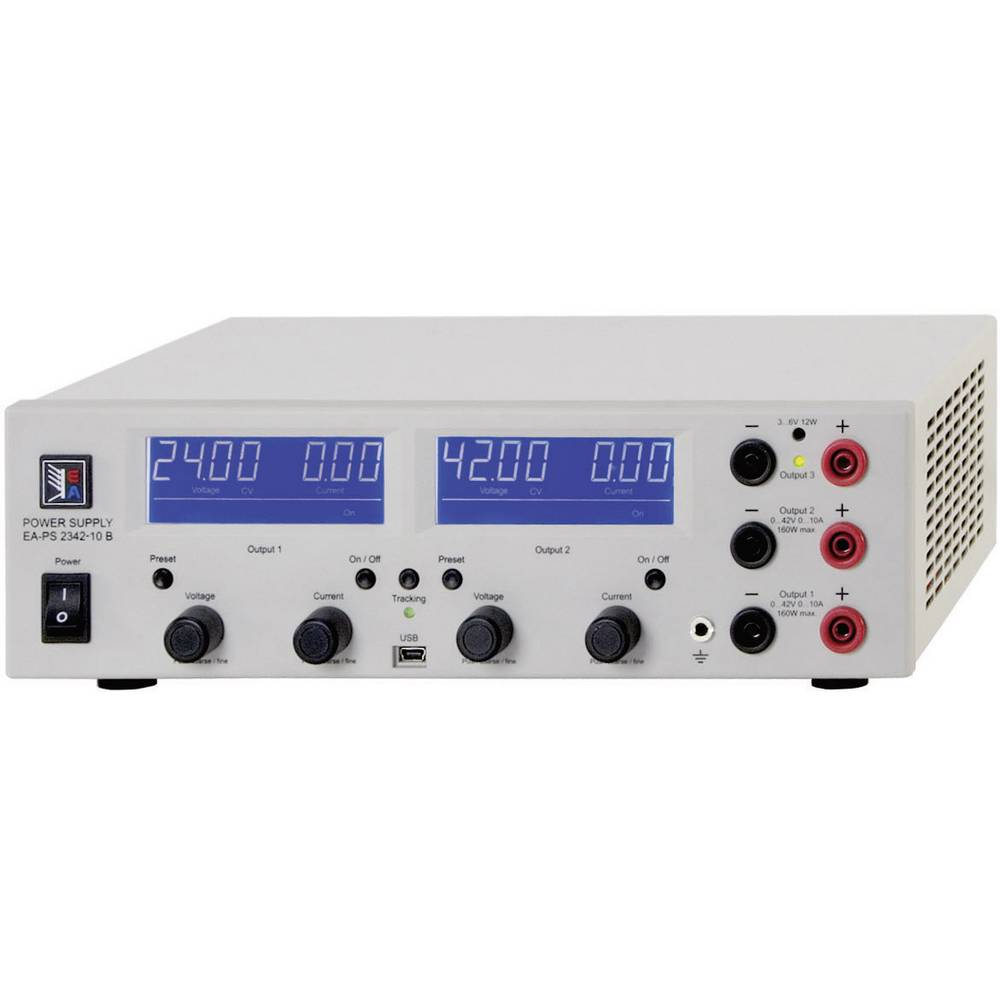 Laboratorijski napajalnik, nastavljiv EA Elektro-Automatik PS 2384-03B trojni 0 - 84 V/DC 0 - 3 A 212 W USB nastavljiv število i