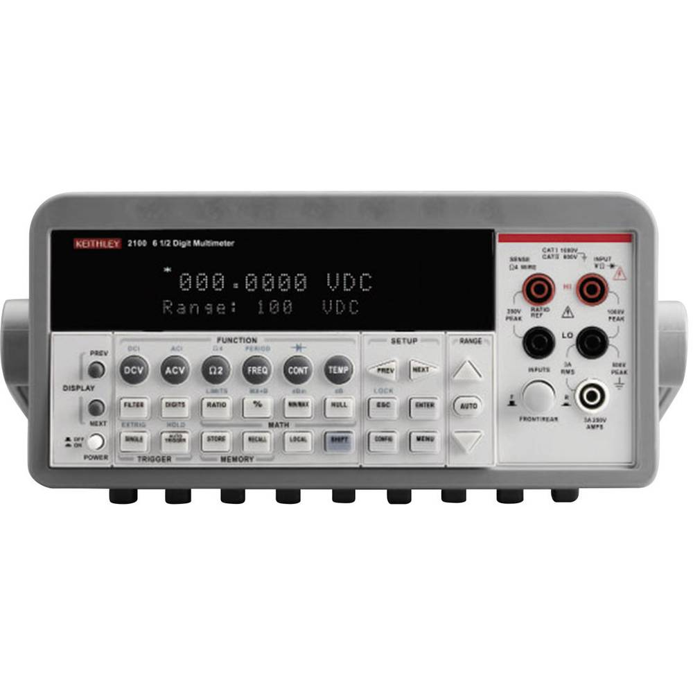 Kal.-ISO Digitalni namizni multimeter Keithley 2100/230-240 CAT II 600 V št. mest na zaslonu: 1000000