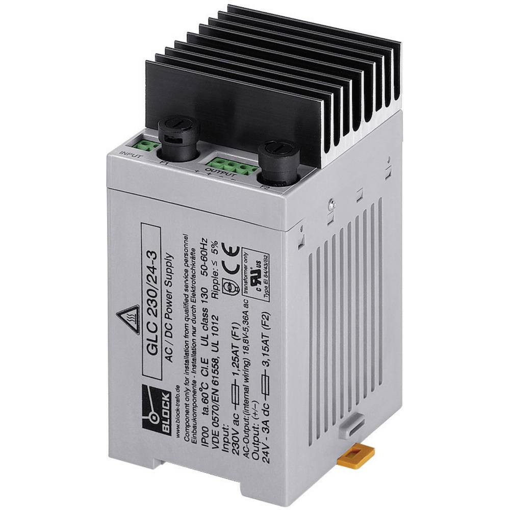 AC/DC Ugradbeni adapter napajanja Block GLC 230/24-1 24 V/DC 1 A 24 W
