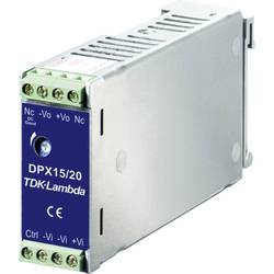 Adapter napajanja za profilne šine (DIN-letva) TDK-Lambda DPX-15-48WS-3P3 3.3 V/DC 4.5 A 15 W 1 x