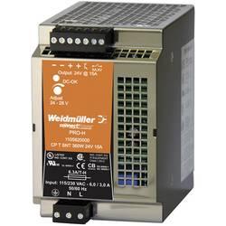 Napajalnik za namestitev na vodila (DIN letev) Weidmüller CP T SNT 360W 24V 15A 28 V/DC 15 A 360 W 1 x