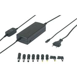 Strujni adapter za prijenosno računalo VOLTCRAFT NPS-125 USB 112 W 12 V/DC, 14 V/DC, 16 V/DC, 18 V/DC, 18.5 V/DC, 19 V/DC, 19.5