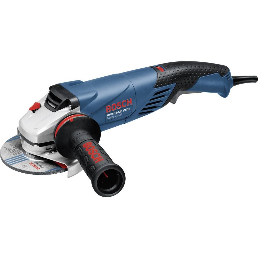 Kotni brusilnik 125 mm 1500 W Bosch Professional GWS 15-125 CITH 0601830407