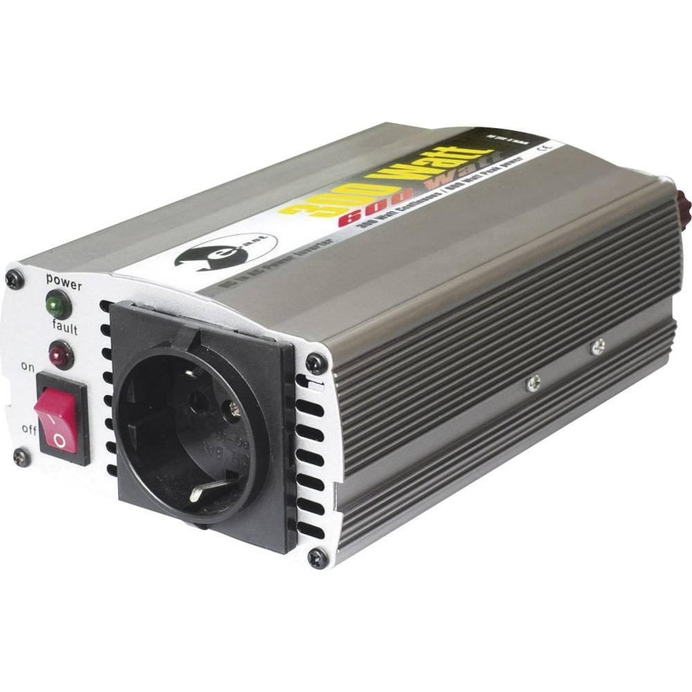 Izmjenjivač e-ast CL300-12 300 W 12 V/DC 12 V/DC (11 - 15 V) vijčana spojka, utičnica sa zaštitom od prenapona