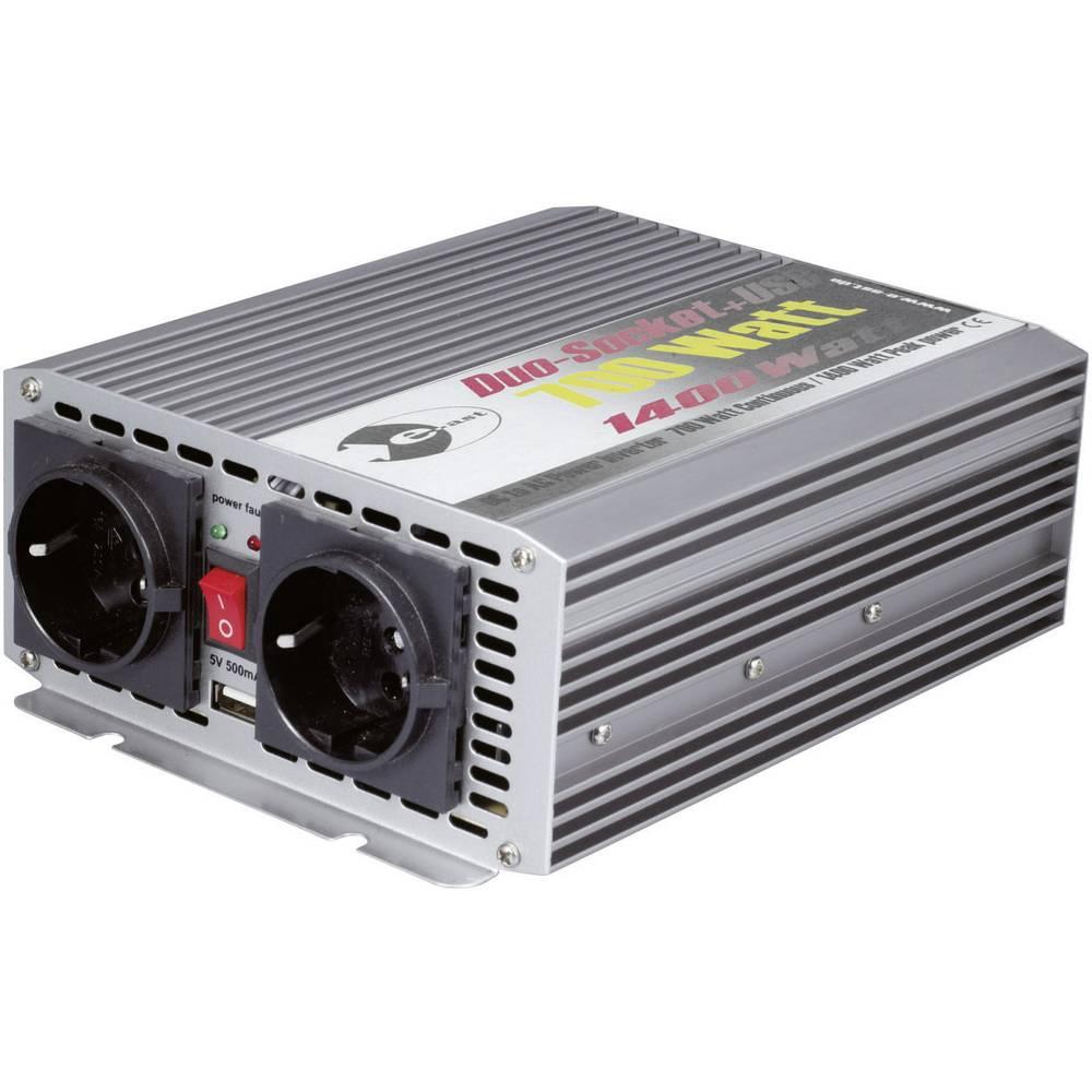 Izmjenjivač e-ast CL700-D-24 700 W 24 V/DC 24 V/DC (22 - 28 V) vijčana spojka, utičnica sa zaštitom od prenapona