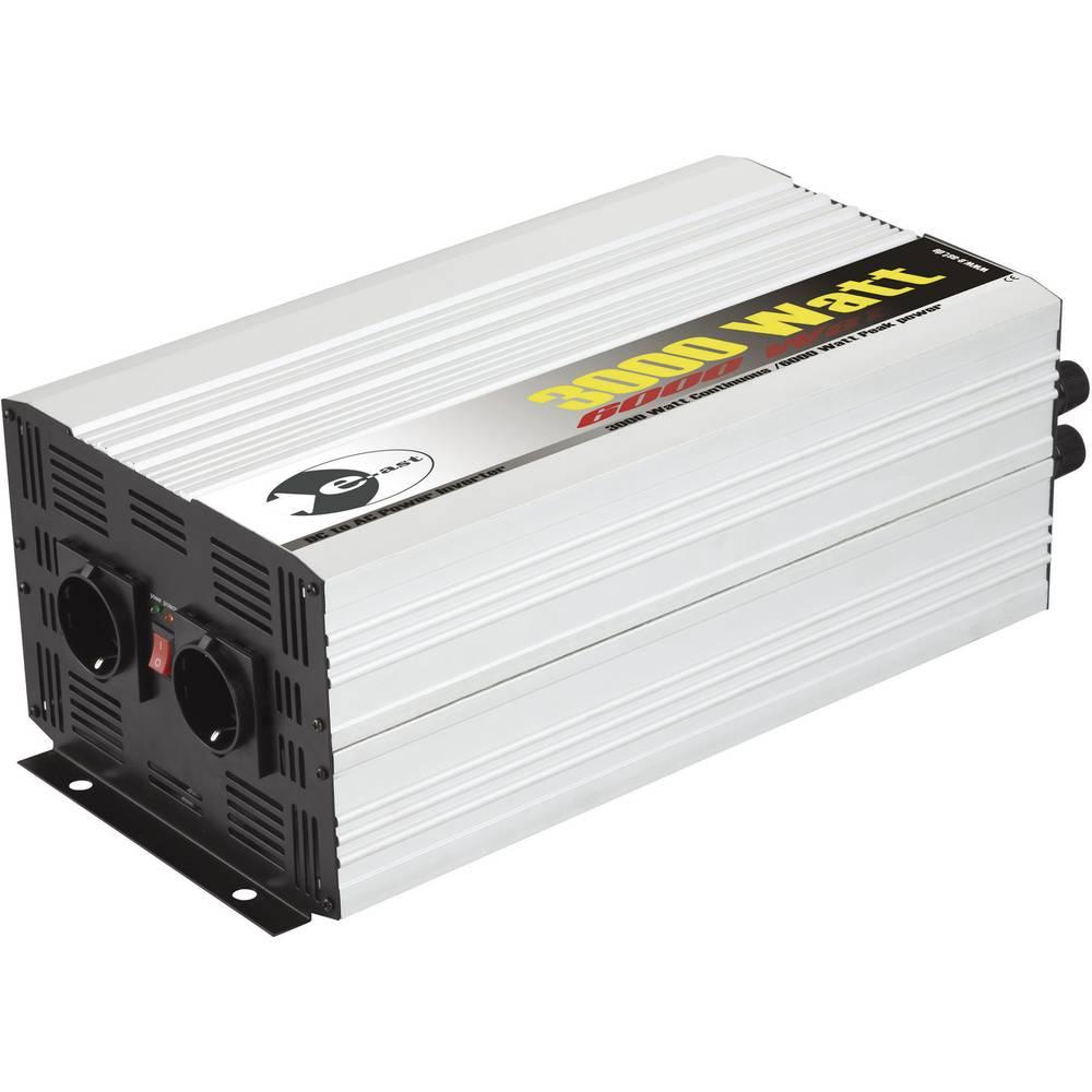 Razsmernik e-ast HPL 3000-24 3000 W 24 V/DC 24 V/DC (22 - 28 V) vijačne objemke, varnostna vtičnica