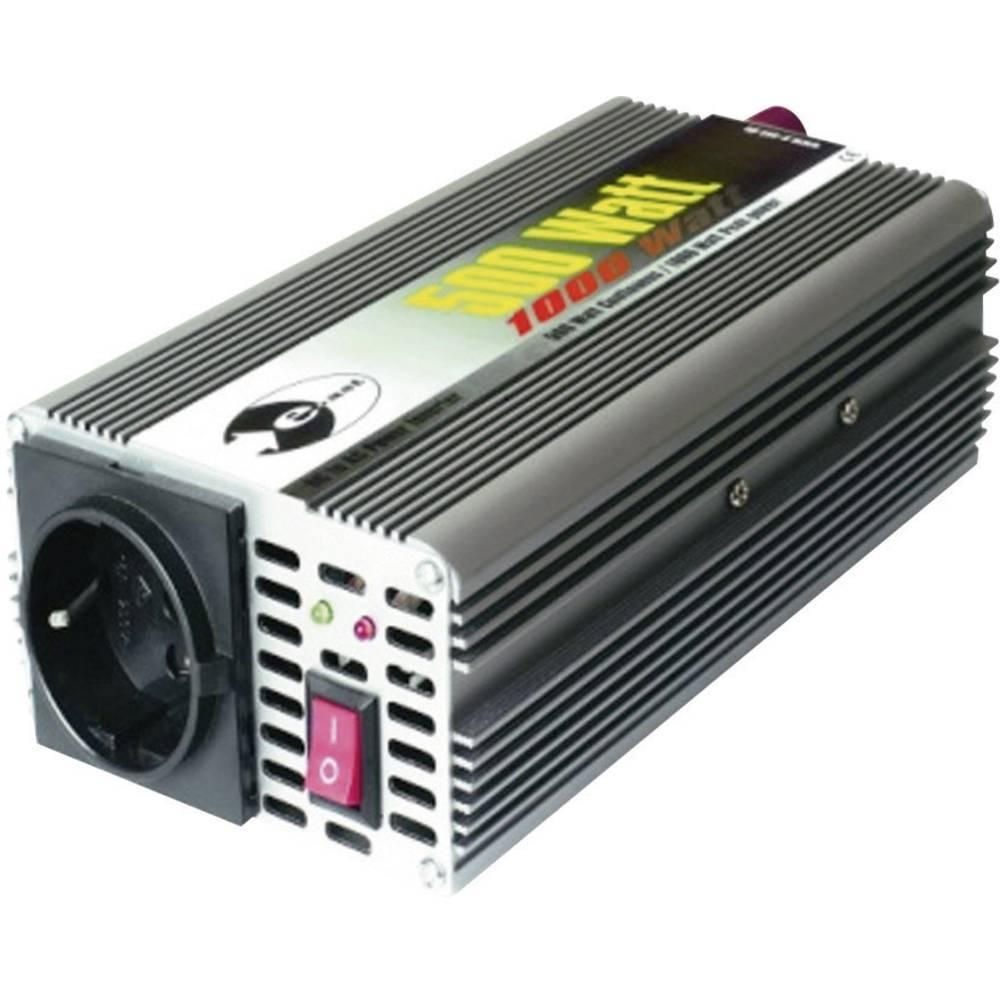 Razsmernik e-ast CL 500-12 500 W 12 V/DC 12 V/DC (11 - 15 V) vijačne objemke, varnostna vtičnica