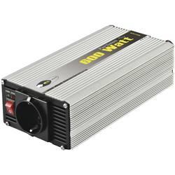 Razsmernik e-ast CLS 600-12 600 W 12 V/DC 12 V/DC (11 - 15 V) vijačne objemke, varnostna vtičnica
