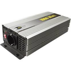 Razsmernik e-ast HighPowerSinus HPLS 1000-12 1000 W 12 V/DC 12 V/DC (11 - 15 V) vijačne objemke, varnostna vtičnica