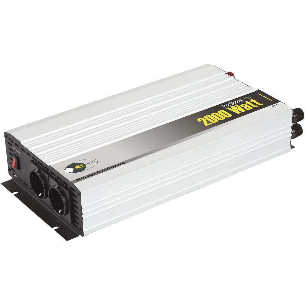 Izmjenjivač e-ast HighPowerSinus HPLS 2000-24 2000 W 24 V/DC 24 V/DC (22 - 28 V) utičnica sa zaštitom od prenapona