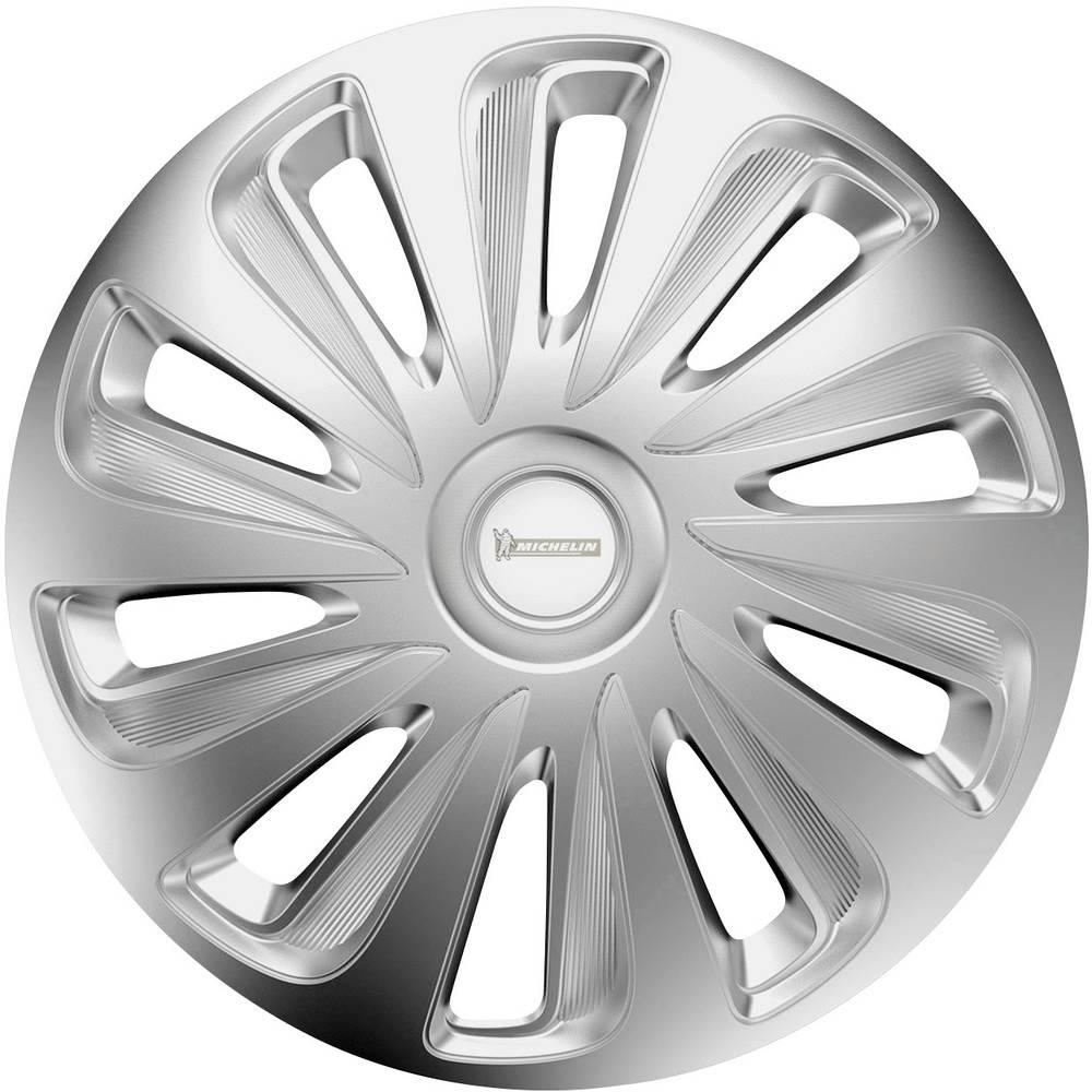 Okrasni pokrovi za platišča Céline R14 srebrna, krom 4 kosi Michelin