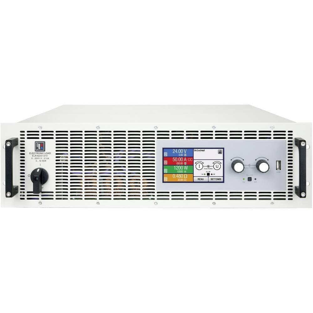 Elektroničko opterečenje EA Elektro-Automatik EA-ELR 9250-210 3U 250 V/DC 210 A 10500 W