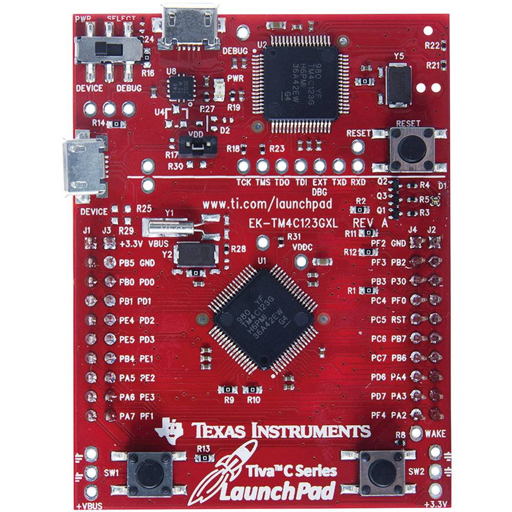 Razvojna plošča Texas Instruments EK-TM4C123GXL