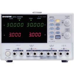 Laboratorijski napajalnik, nastavljiv GW Instek GPD-4303S 0 - 30 V/DC 0 - 3 A 195 W USB daljinsko krmiljenje št. izhodov 4 x kal