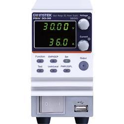 Laboratorijski naponski uređaj, podesivi GW Instek PSW30-36 0 - 30 V/DC 0 - 36 A 360 W broj izlaza 1 x