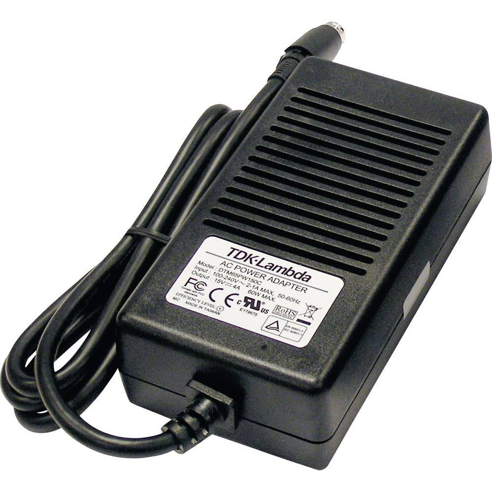 Namizni napajalnik s stalno napetostjo TDK-Lambda DTM-65PW-120-C 12 V/DC 5000 mA