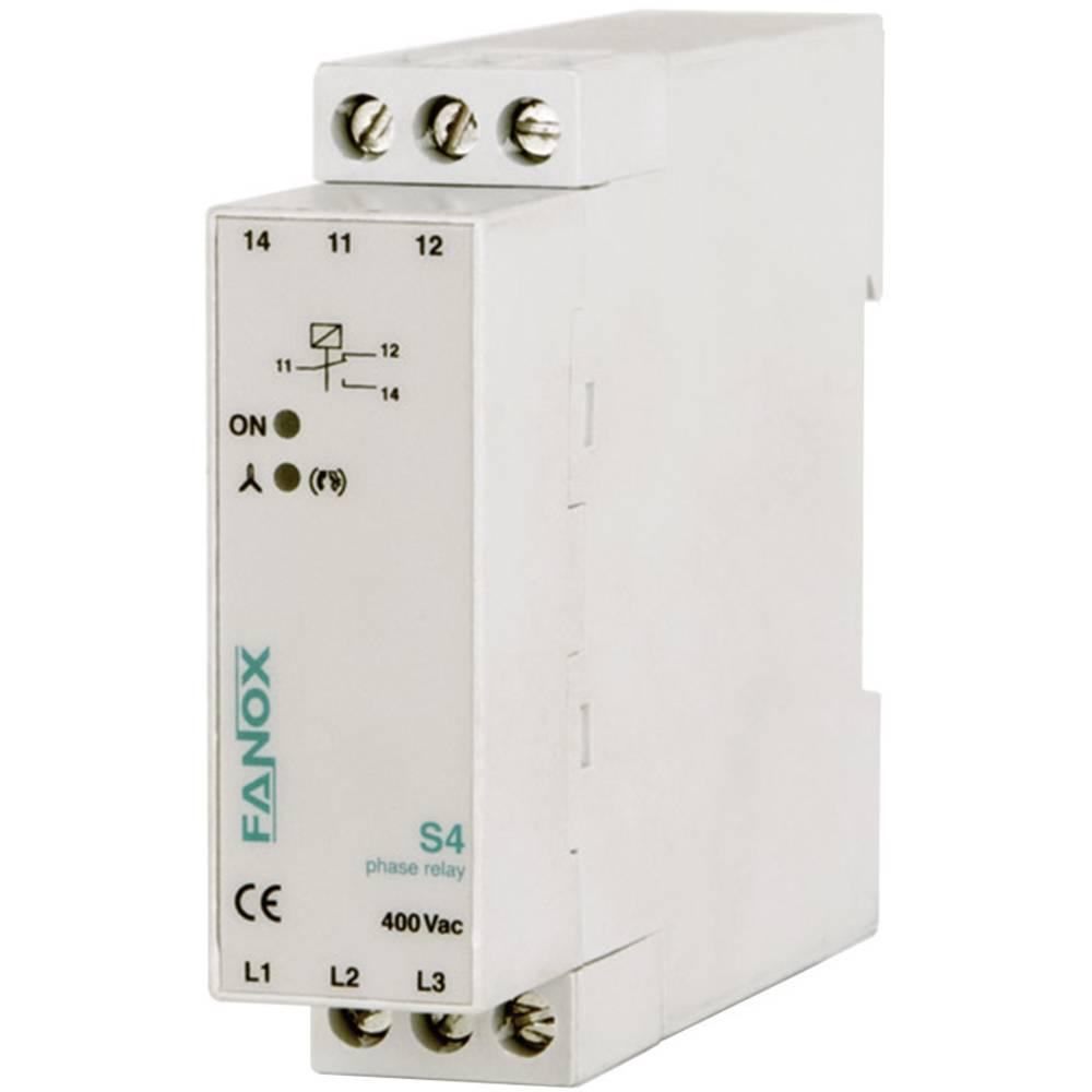 Rele za nadzor faze S Fanox S4-3x400V AC Rele za nadzor faze