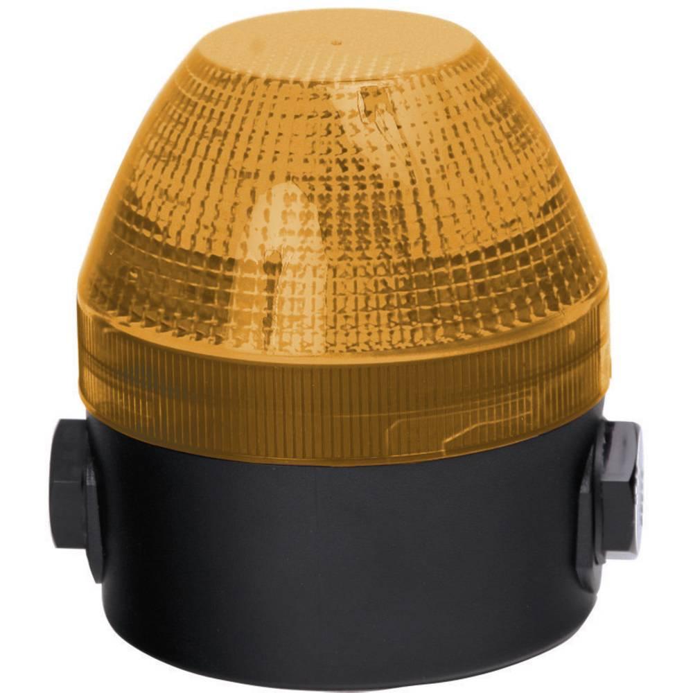 Signalna luč LED Auer Signalgeräte NFS oranžna neprekinjena luč, utripajoča luč 24 V/DC, 24 V/AC, 48 V/DC, 48 V/AC