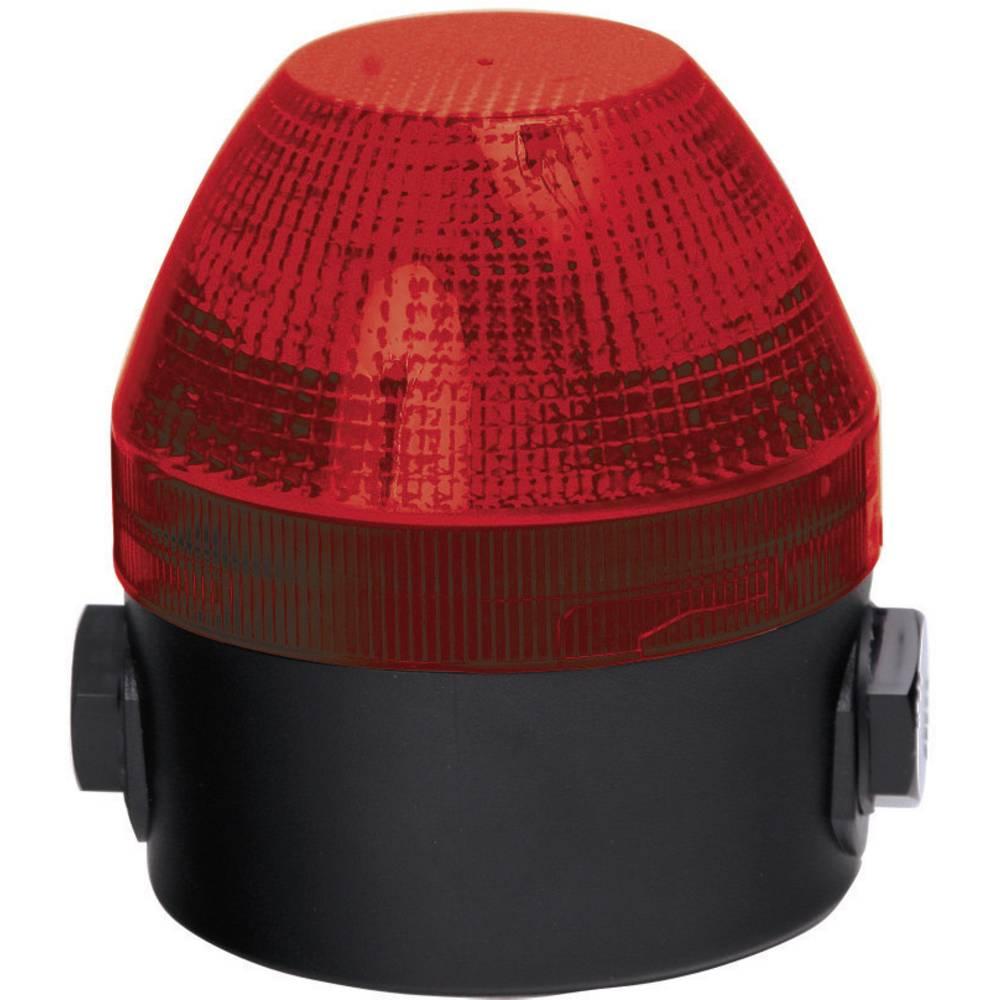 Signalna luč LED Auer Signalgeräte NFS rdeča neprekinjena luč, utripajoča luč 24 V/DC, 24 V/AC, 48 V/DC, 48 V/AC