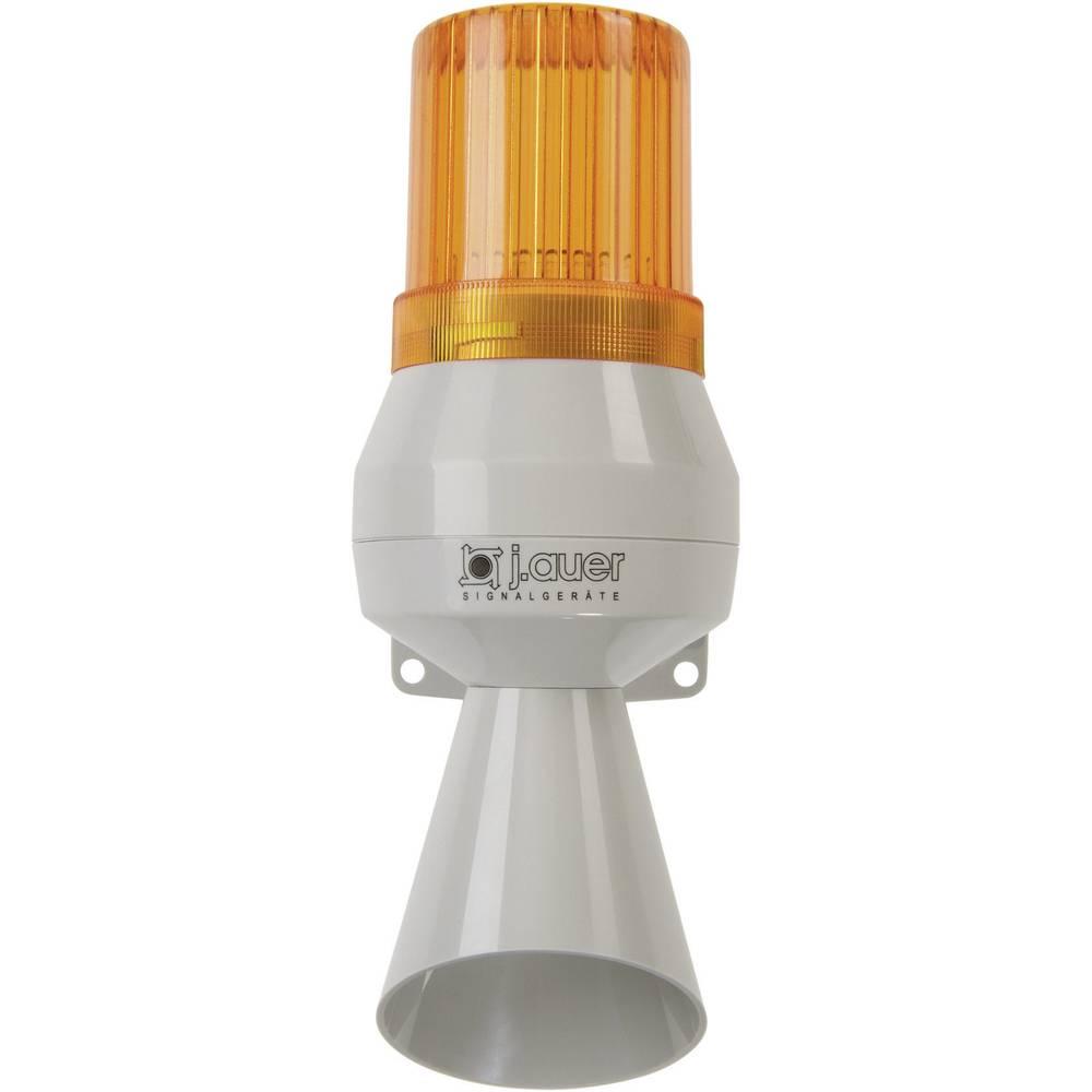 Kombinirani oddajnik signala Auer Signalgeräte KLL oranžna neprekinjena luč, neprekinjen ton 230 V/AC