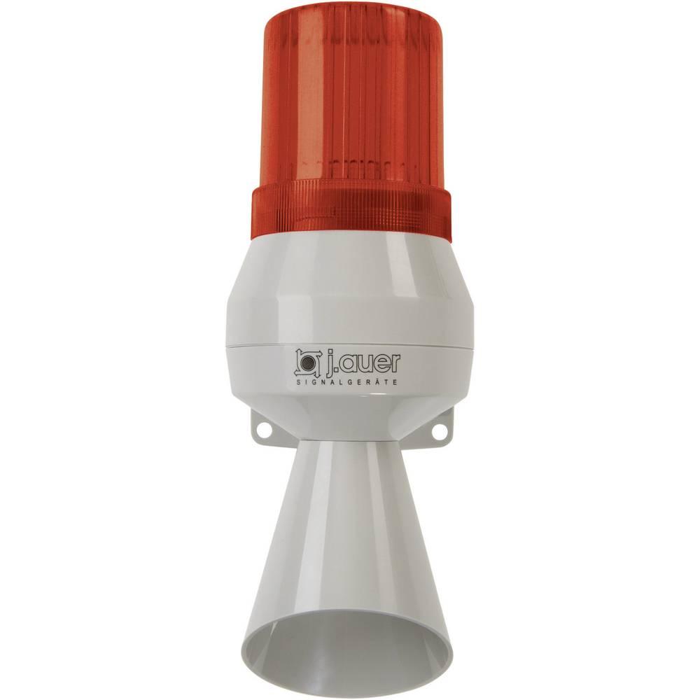 Kombinirani oddajnik signala Auer Signalgeräte KLF rdeča bliskavica, enojni ton 24 V/DC