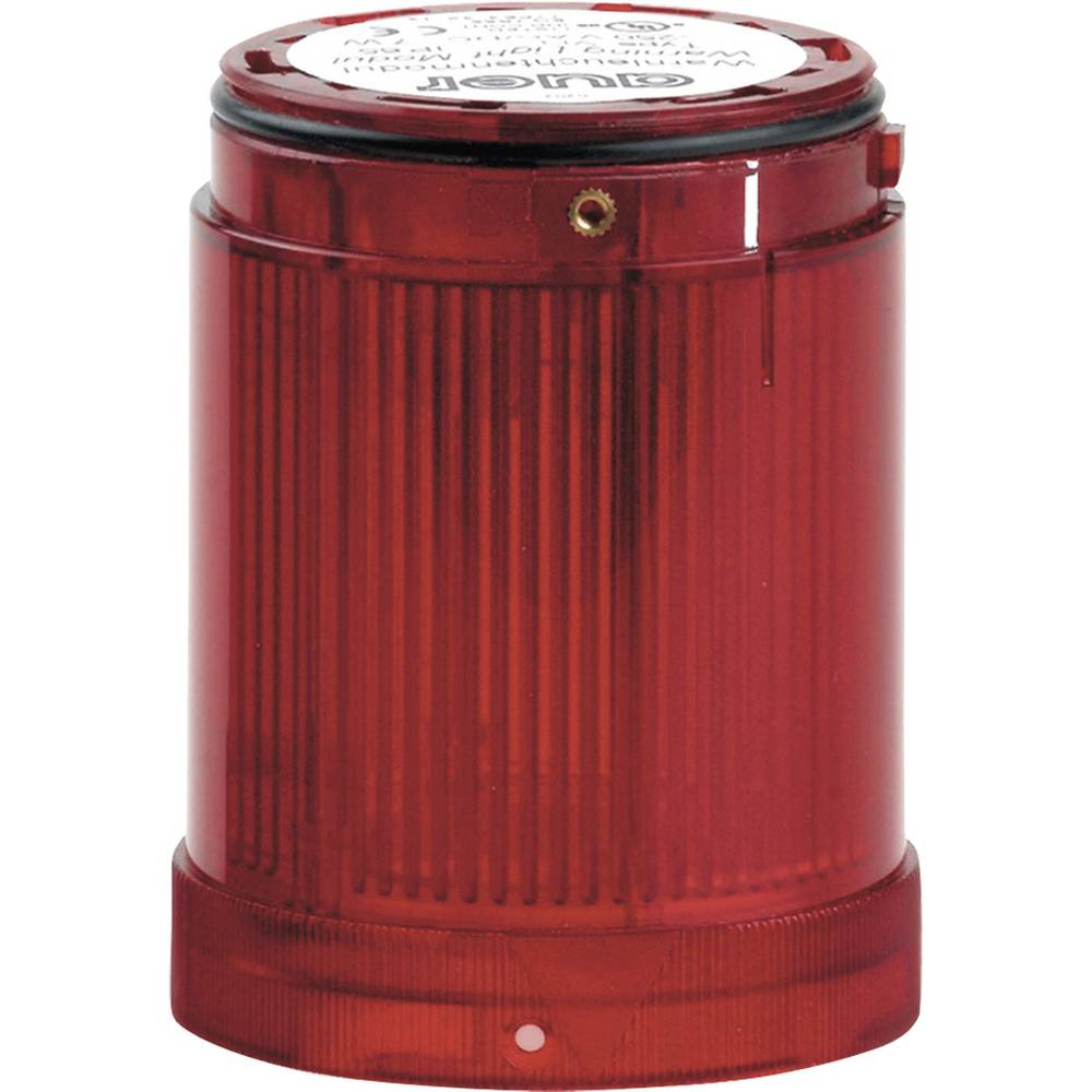 Signalni svetlobni modul LED Auer Signalgeräte VDC rdeča neprekinjena luč 12 V/DC, 12 V/AC, 24 V/DC, 24 V/AC