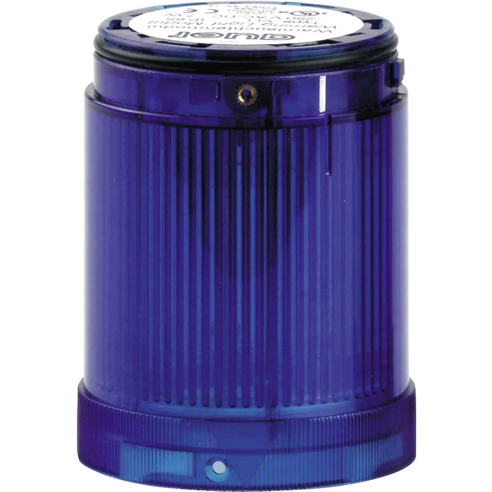 Signalni svetlobni modul LED Auer Signalgeräte VDC modra neprekinjena luč 12 V/DC, 12 V/AC, 24 V/DC, 24 V/AC