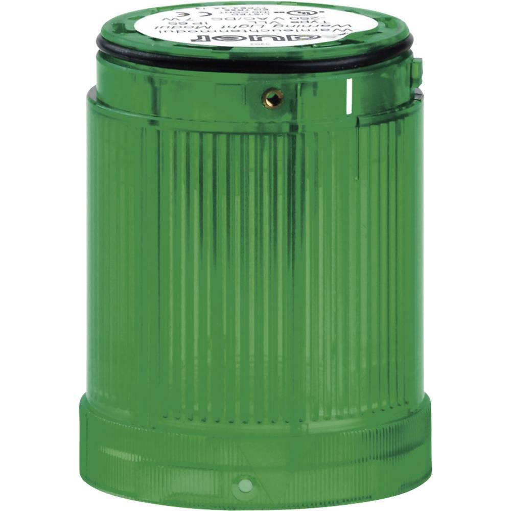 Signalni svetlobni modul LED Auer Signalgeräte VDC zelena neprekinjena luč 12 V/DC, 12 V/AC, 24 V/DC, 24 V/AC