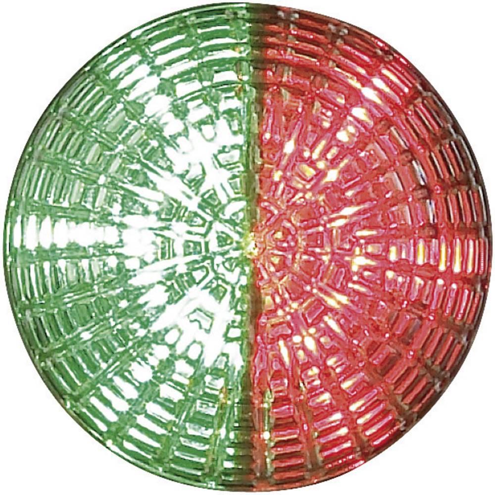 Signalna luč LED Auer Signalgeräte IDS rdeča, zelena neprekinjena luč 24 V/DC, 24 V/AC