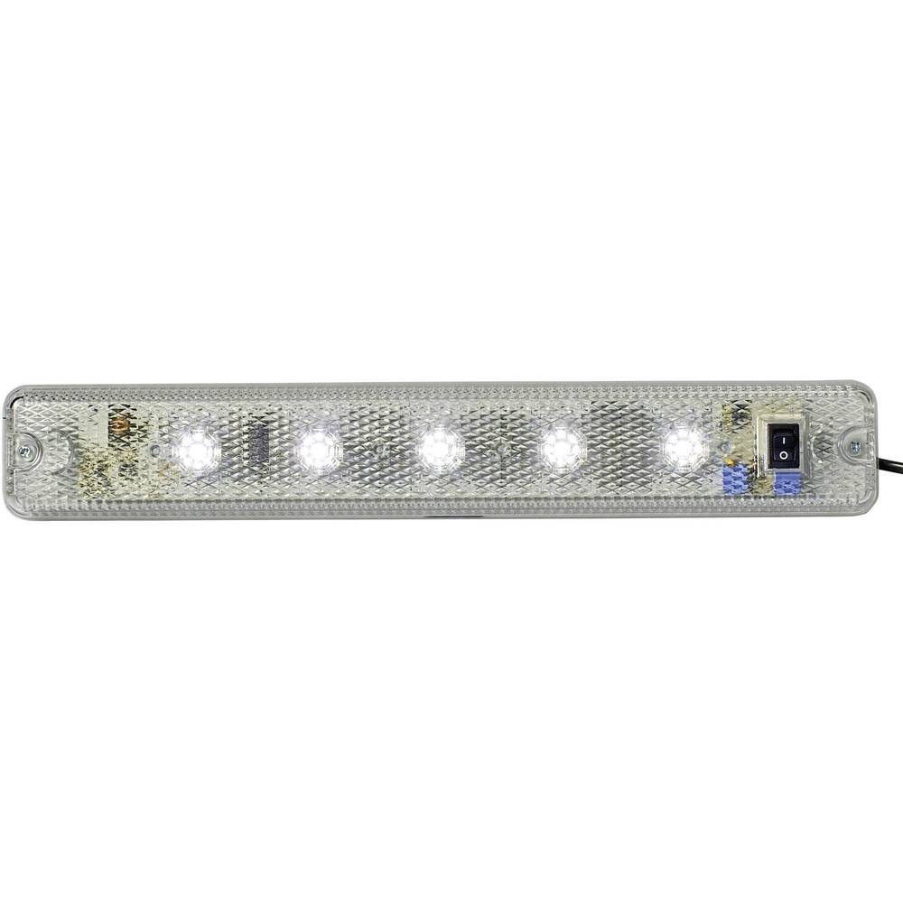 Signalna luč LED Auer Signalgeräte ILL jasna bela neprekinjena luč 24 V/DC, 24 V/AC, 48 V/DC, 48 V/AC
