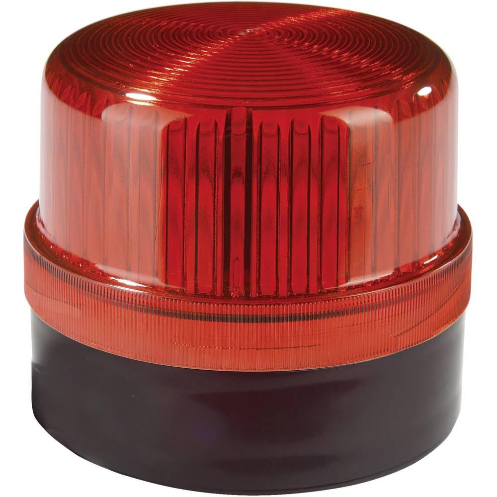 Signalna luč LED Auer Signalgeräte BLG rdeča utripajoča luč 24 V/DC, 24 V/AC